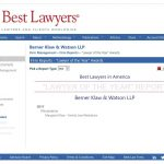 Lawyer of the Year 2017:  Margaret Klaw