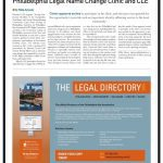Philadelphia Legal Name Change Clinic and CLE