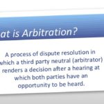 Arbitration as an Alternative to Litigation